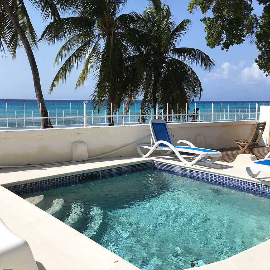 1 Bedroom Beach Front Apartment In Barbados