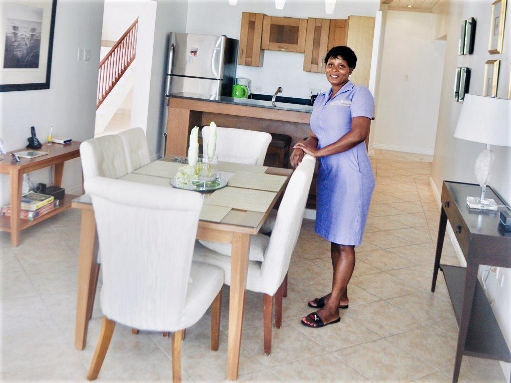 Housekeeper at Barbados apartment