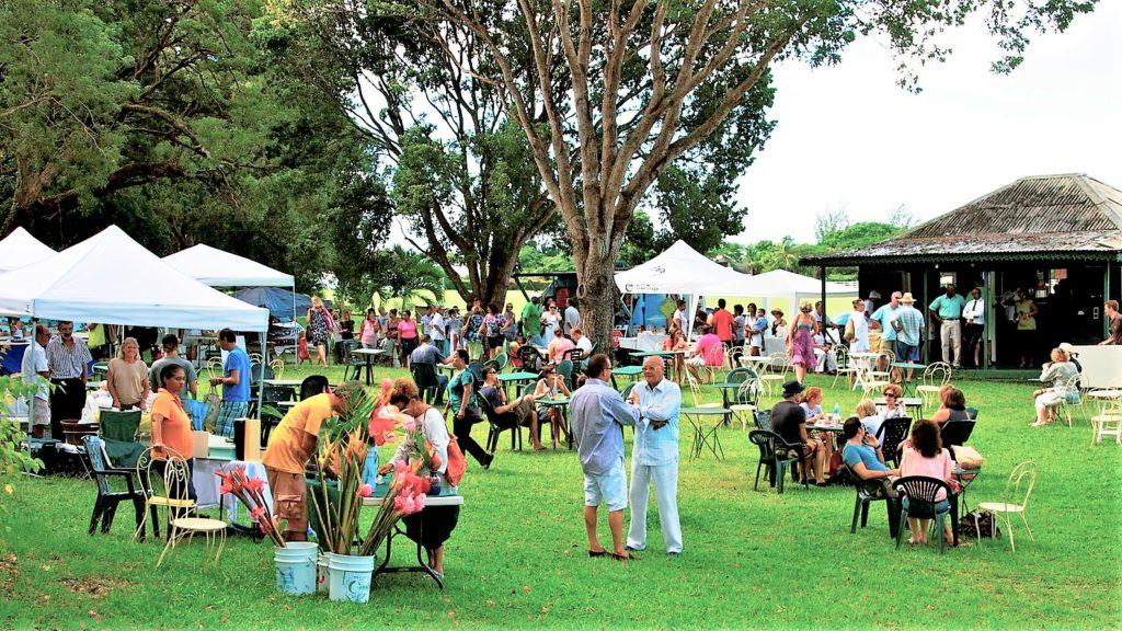 Holders Farmers Market Barbados environmentally friendly holidays